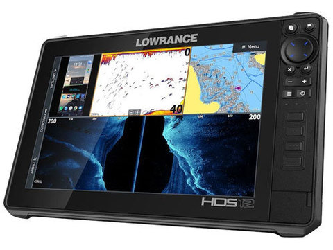 Эхолот Lowrance  HDS-12 LIVE с датчиком Active Imaging 3-в-1 (ROW)