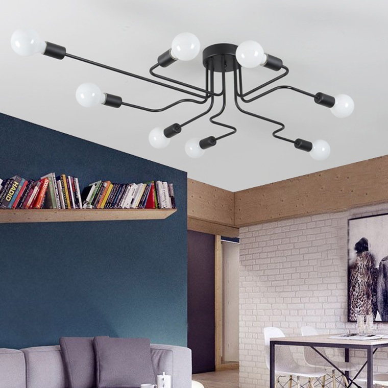Потолочный светильник Lampatron style Scheme Black