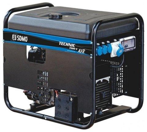 Кожух для бензиновой электростанции SDMO Technic 7500TE AVR C