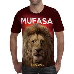 Футболка 3D принт, Король Лев (3Д The Lion King) Муфаса / Mufasa