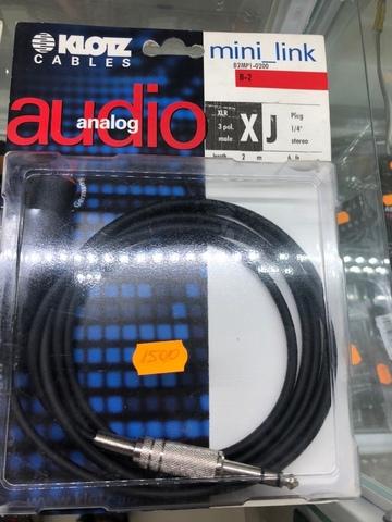 KLOTZ B2MP1-0200 - Микрофонный кабель MY204
