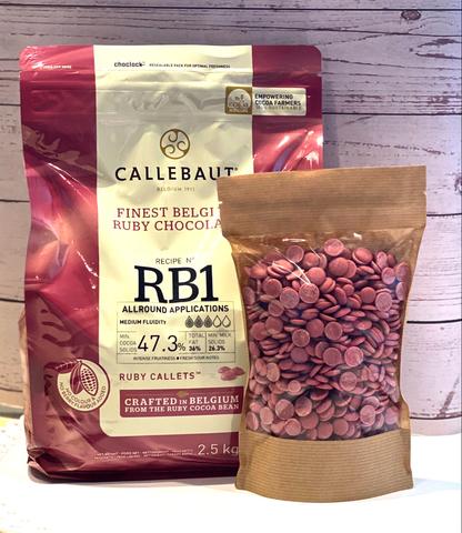 Шоколад Рубиновый Ruby Barry Callebaut 47,3%, 0,4 кг