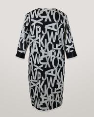 Платье Luani 592 молния буквы