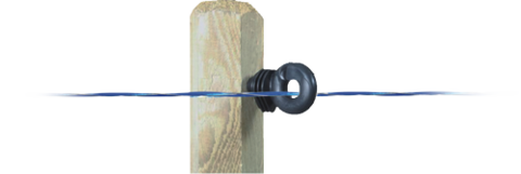 Провод электропастуха Bleufor 1000 м (4мм)