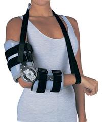 Ортез для локтевого сустава пост-операционный шарнирный с регулируемым замком DonJoy Irom elbow