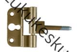 Mantelhing sümmetriline kuldpruun (reguleeritav)