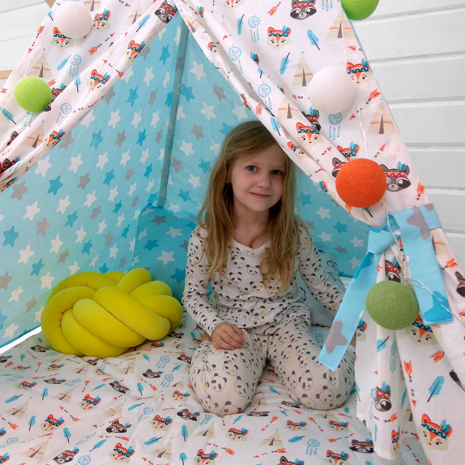 """Палатка ВигВам для детей """"Крошка Енот"""""""