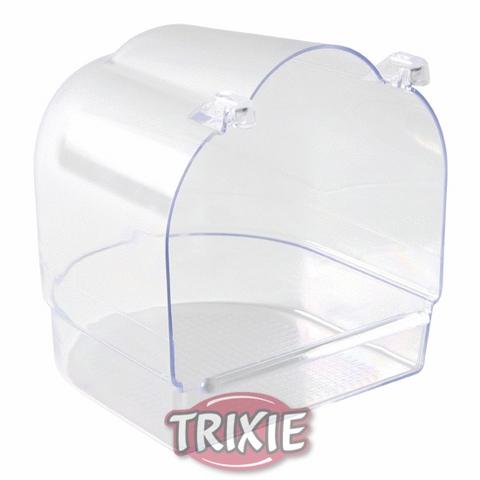 Trixiе 5402 Купалка д/птиц подвесная закрытая, пластик 12*12*12см