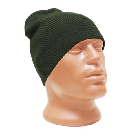 Шапка Deluxe 'Skull Cap' Olive Drab