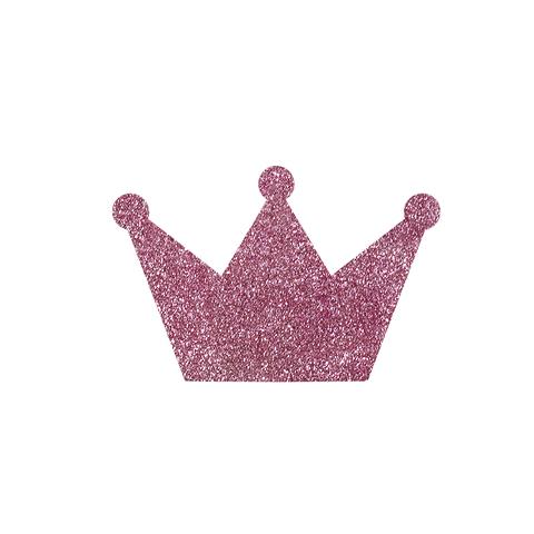 Вешалка (настенный крючок) Crown Pink sparkle