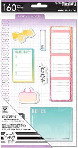 Закладки-стикеры Sticky Notes - Healthy Hero -160шт