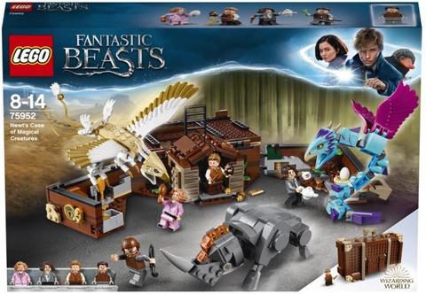 Конструктор LEGO Harry Potter 75952 Чемодан Ньюта Саламандера