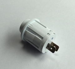 Кнопка вентилятора ЗВИ, белая