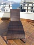 Лежак плетеный Besta Fiesta Monaco brown