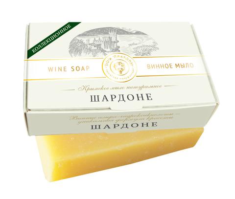 МДП Крымское натуральное мыло Винное ШАРДОНЕ, 100г