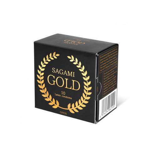 Sagami Gold 10'S Презервативы латексные