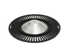 Жаровня гриль бездымная с равномерным нагревом для газовой плиты 38 см.