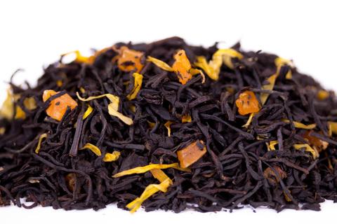 Черный десертный чай Абрикосовая свежесть ЧАЙ ИП Кавацкая М.А. 0,1кг