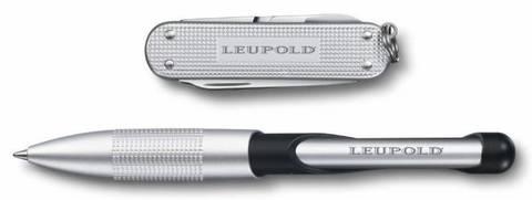 Подарочный набор Victorinox 4.4346.2 нож 0.6221.26 + ручка Cabrio ручка с синей пастой серебристый