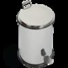 Ведро мусорное с педалью 5л.,   Migliore Complimenti 21x32см. ML.COM-50.107 хром