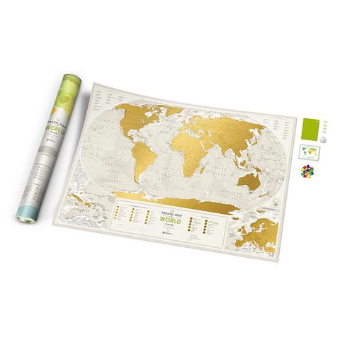 1DEA.me Скретч Карта Мира Geography, 88 × 60 см