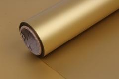 Матовая бумага золото, 50см*10 м