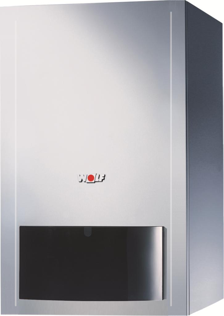 Котел газовый конденсационный настенный WOLF CGB-100
