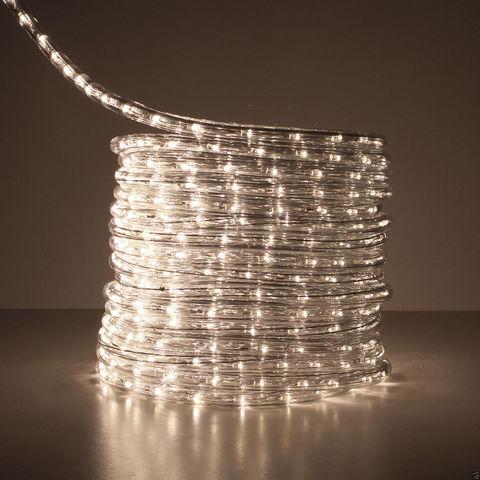 Светодиодный дюралайт теплый белый свет 100 метров