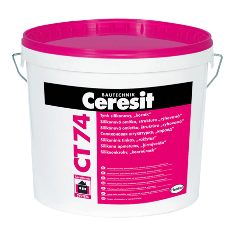 Ceresit CT 74/Церезит ЦТ 74 силиконовая декоративная штукатурка