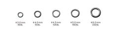 Кольцо MORRIS OW SOLID RING 3.0mm(48LB)