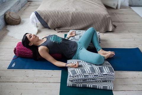 Одеяло для йоги, хлопок
