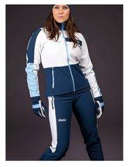 Перчатки лыжные женские Swix Cross темно-синий - 2