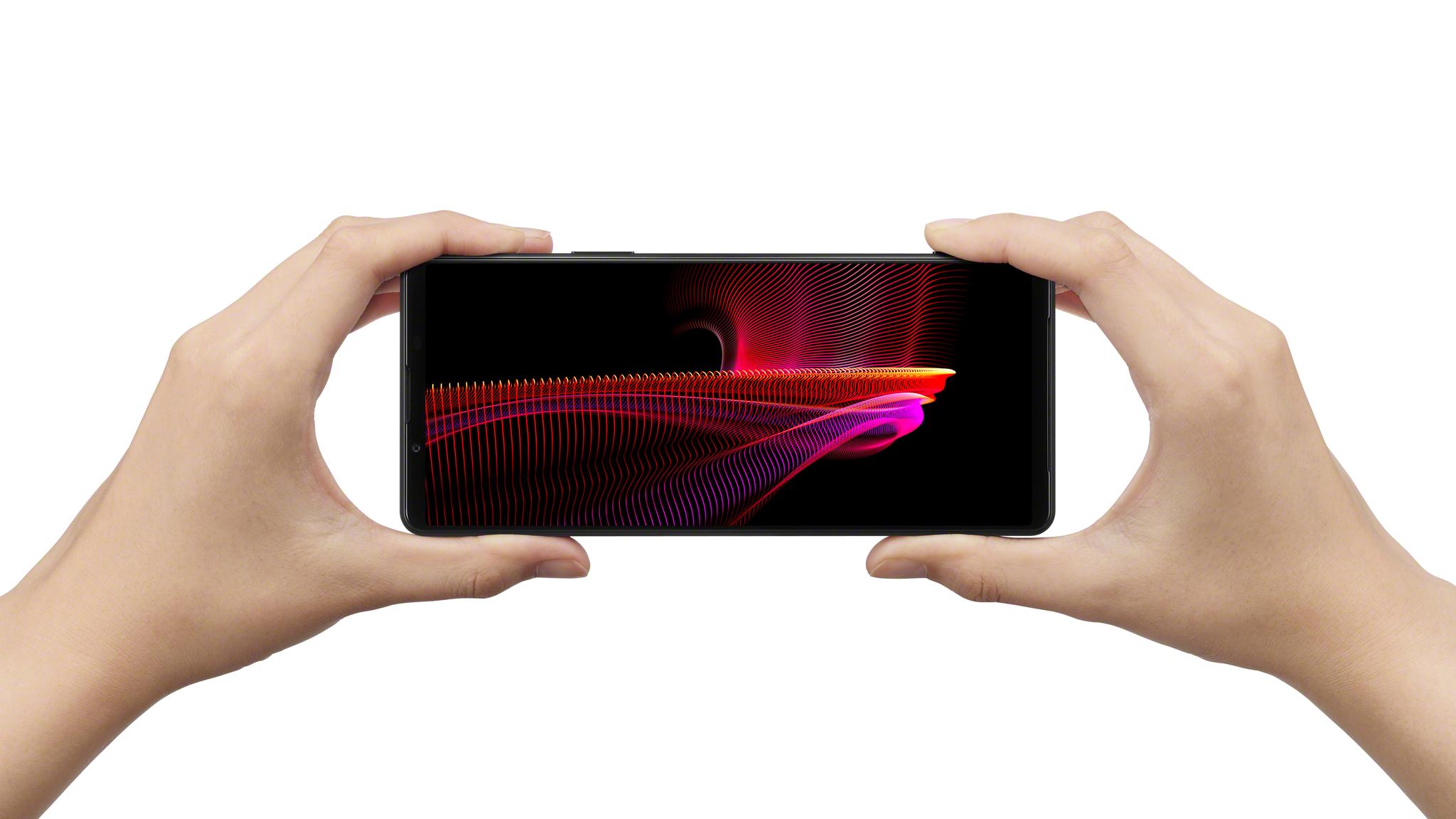 Стереодинамики смартфона Xperia 1 III порадуют вас своим звучанием