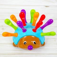 Развивающая игрушка Ёжик Спайк сортер с колючками