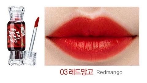 THE SAEM LIP Тинт для губ Конфетка Saemmul Water Candy Tint 03 Redmango 10g