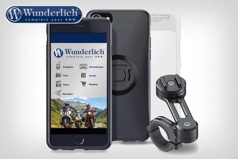 SP-Connect комплект крепления смартфона Moto Bundle - iPhone 6 / 6S / 7 Plus - черный