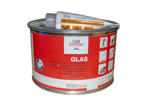 Car System Шпатлевка Glass    1kg 130854