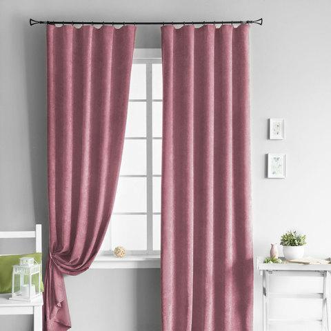 Комплект штор Kriss розовый