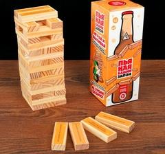 Настольная игра «Пьяная башня. Запой», 54 бруска, фото 1