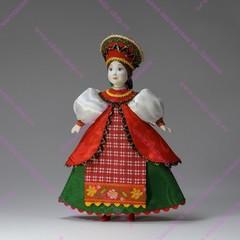 Кукла Крестьянка в переднике