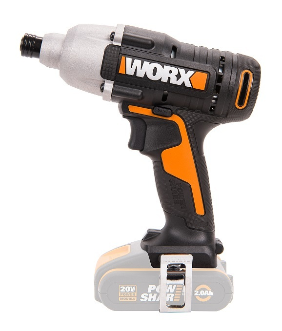 Винтоверт ударный аккумуляторный WORX WX291.9, 20В, без АКБ и ЗУ