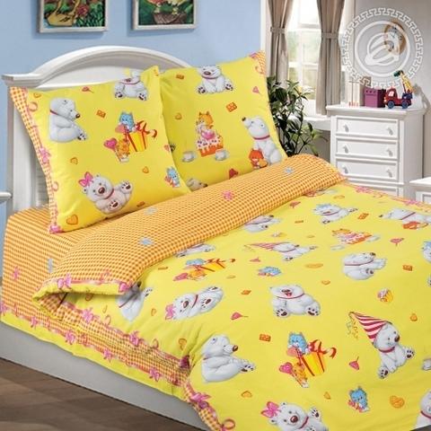 Детское постельное бельё День рождения ПОПЛИН