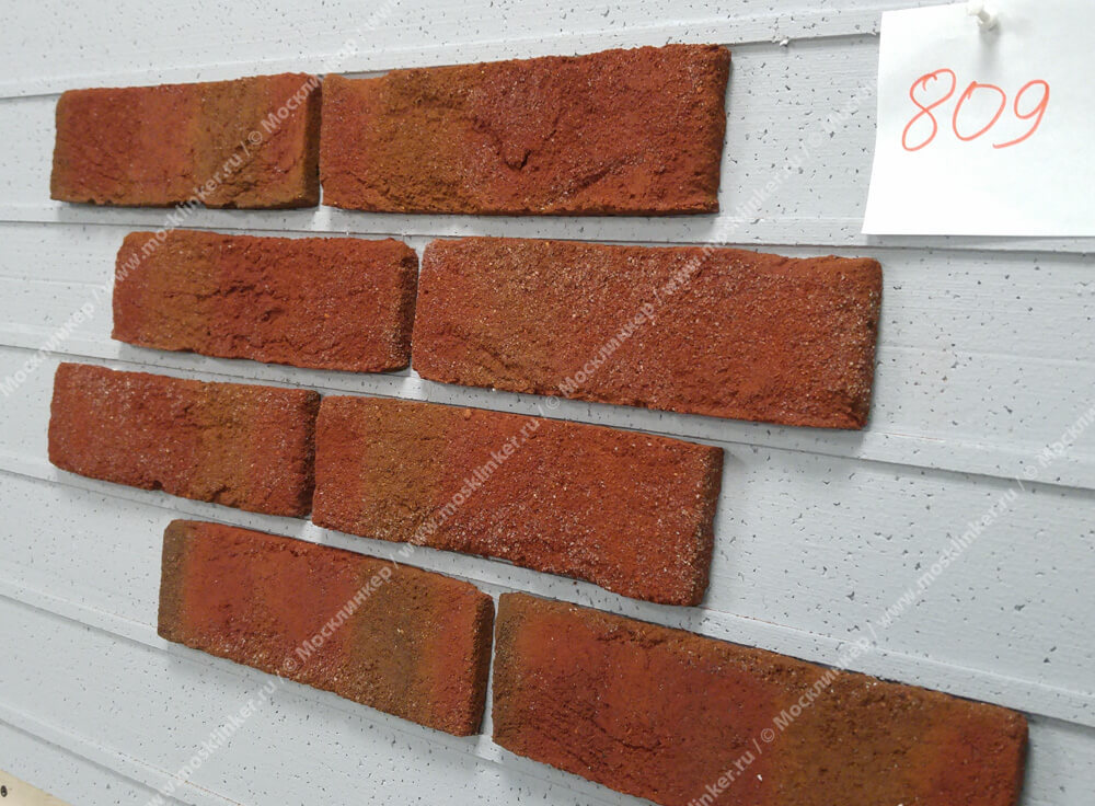 Roben - Formback, hellrot bunt, NF14, 240x14x71 - Клинкерная плитка для фасада и внутренней отделки