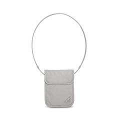 Потайной кошелек на шею Pacsafe Coversafe X75 Светло-серый