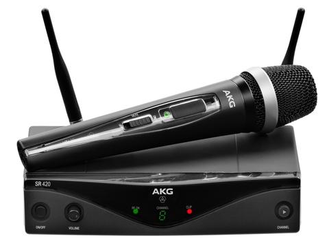 AKG WMS420 VOCAL SET Band A вокальная радиосистема