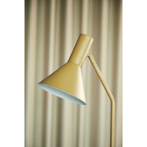 Лампа напольная Lyss, миндальная матовая