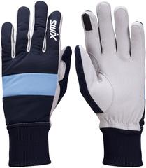 Перчатки лыжные женские Swix Cross темно-синий
