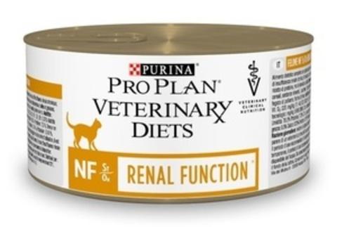 Purina Pro Plan NF - Вет.диета для кошек при патологии почек, мусс 195г.