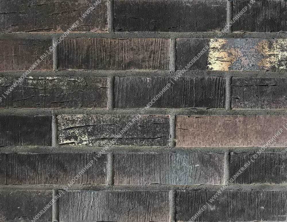 Stroeher - 377 platinbraun, Steinlinge, состаренная поверхность, ручная формовка, 240x71x14 - Клинкерная плитка для фасада и внутренней отделки