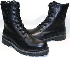 Высокие ботинки зимние женские Vivo Antistres Lena 603